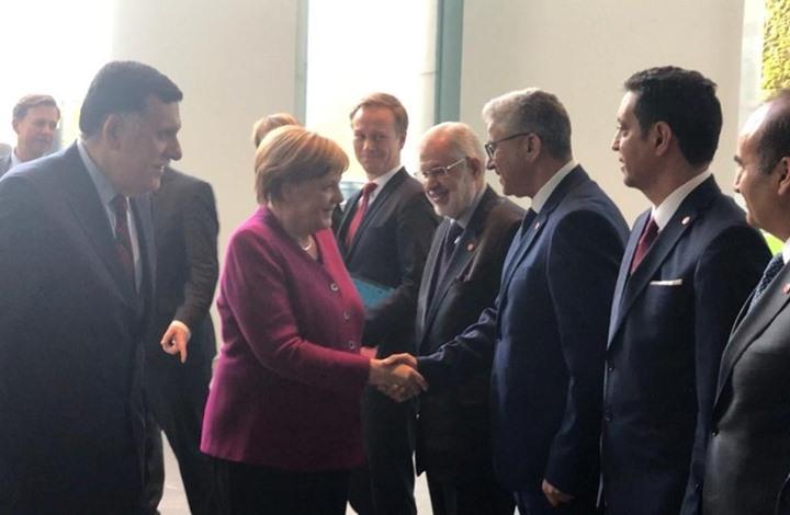 """أكدت ميركل على دعم بلادها لجهود رئيس المجلس الرئاسي فائز السراج """"للخروج من الأزمة"""
