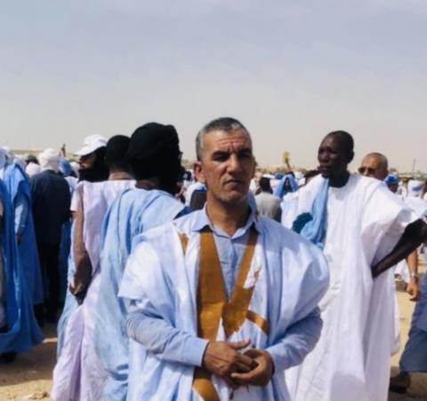 عبد الله ولد اتفغ المختار- صحفي