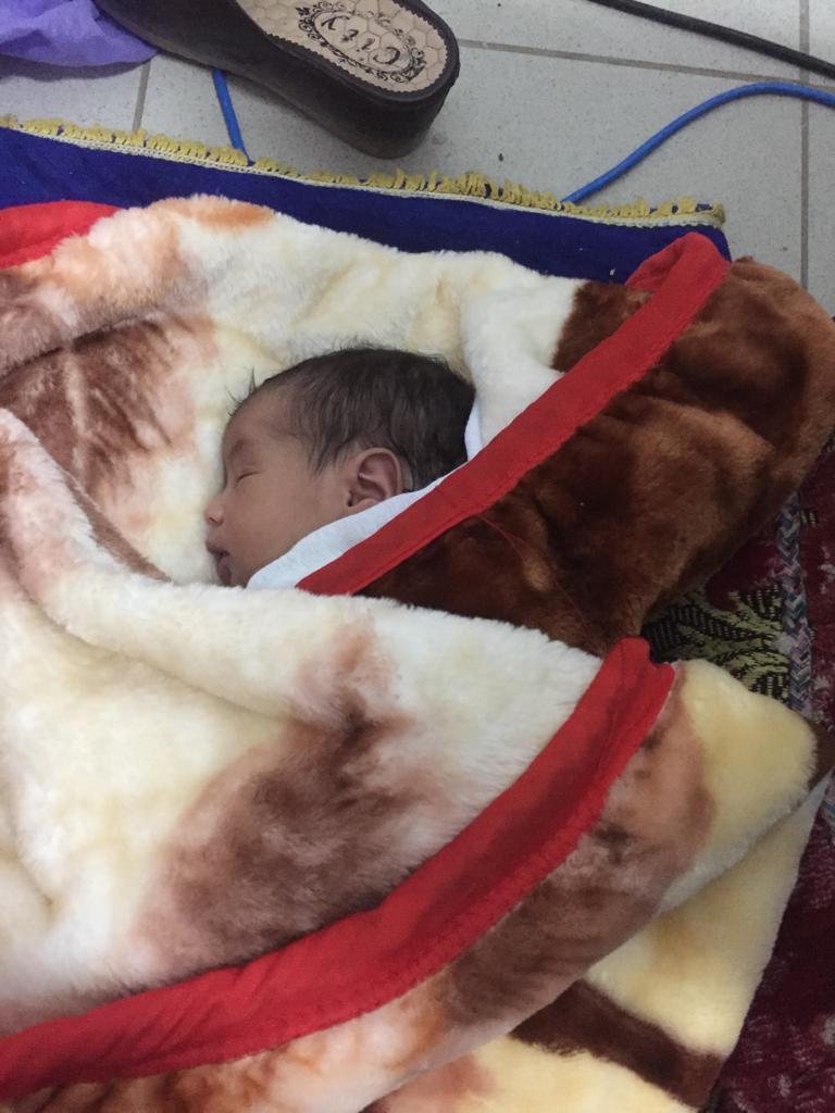 الرضيعة-تصوير الإخباري